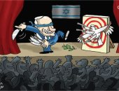 كاريكاتير الصحف الإماراتية.. استعراض نتنياهو الانتخابى يقضى على السلام