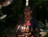 بتورتة ملاكم.. شريف مدكور يحتفل بعيد ميلاده الـ47