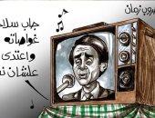 أسلحة الحرب أمس واليوم بكاريكاتير اليوم السابع.. من الدبابة والطائرة للهاشتاجات