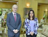 محافظ دمياط تستقبل السفير الأرجنتينى بمصر لبحث الإستثمار والتعاون بين البلدين