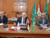 رئيس جامعة المنوفية يوافق على زيادة قيمة التكافل للطلاب
