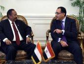 جلسة مباحثات مُوسعة بين رئيسى وزراء مصر والسودان