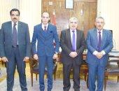 جامعة طنطا تطبق منظومة ترشيد المياه بالتعاون مع الإنتاج الحربى