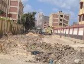 قارئ يشكو من سوء حالة الطريق بشارع جمال عبد الناصر فى بولاق بمحافظة الجيزة