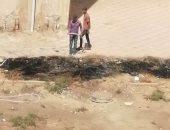 حرق مخلفات مدرسة.. شكوى سكان الشيخ زايد بالحى 13 المجاورة 4