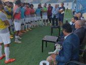 صور.. مجلس إنبى يُحفز اللاعبين باجتماع رسمى قبل مواجهة بيراميدز