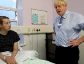 زيارة رئيس الوزراء البريطانى لمستشفى جامعة ويسبس فى لندن