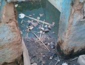 قارئ يطالب بتغيير مواسير مياه شرب وتركيب شبكة الصرف الصحى بقرية بأسوان