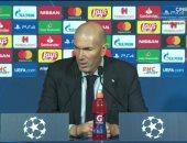 جالطة سراي ضد الريال.. زيدان: لدينا دوافع الفوز وأريد البقاء في مدريد للأبد