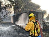 رجال الإطفاء تسيطر على حرائق مدمرة اجتاحت وادى كاباى بكاليفورنيا