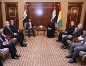 رئيس مجلس النواب العراقى يلتقى رئيس برلمان إقليم كردستان
