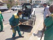 صور.. حملات نظافة ورفع مخلفات وإزالة تعديات بالبناء فى 5 محافظات