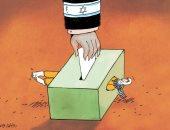 كاريكاتير.. الشعب الفلسطينى ضحية انتخابات الكنيست الإسرائيلى
