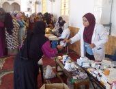 الكشف بالمجان على 525 مريضا فى قافلة شاملة شرق الإسكندرية