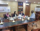 السودان واليابان يبحثان التعاون فى مجال الرى