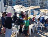 """""""القومى لأسر الشهداء"""" ينظم رحلة ترفيهية بشاطى البوريفاج بالأسكندرية..صور"""