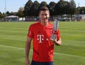 ليفاندوفسكى أفضل لاعب فى الدوري الألمانى خلال شهر أغسطس
