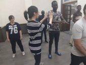 صور.. الووشو الصينية دورة مجانية لتعليم الفنون القتالية بجامعة عين شمس
