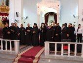الأنبا باخوم يترأس قداس الاحتفال بختام انشطة كنيسة الأنبا انطونيوس بالفجالة