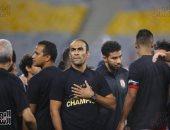 كاميرا سوبر كورة ترصد اصطحاب سيد عبد الحفيظ لأسرته فى احتفالية الأهلى