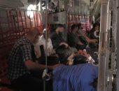 شاهد.. إيطاليا تستقبل أول دفعة لأطفال ليبيين من بنغازى للعلاج فى روما