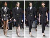 الأسود يسيطر على عرض أزياء فيرساتشى وجينفير لوبيز تخطف الأنظار في ميلان
