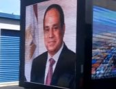 سيارات تلفزيونية للجالية المصرية تطوف شوارع نيويورك لاستقبال السيسى