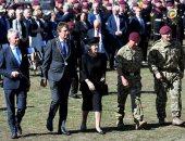 أميرة هولندا والأمير تشارلز يشاركون فى إحياء الذكرى 75 لمعركة أرنهيم