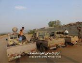 """فيديو.. مقاتلات """"التحالف"""" تدك تحصينات لمليشيات الحوثى بصعدة"""