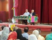 صور.. محافظ بورسعيد: التعليم الموازى أدى لضياع القيم الأصيلة فى المجتمع