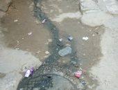 شكوى من انتشار مياه الصرف الصحى بشارع محمصة أم النور بالإسكندرية