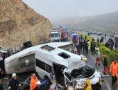 إصابة 15 سائحا روسيا فى حادث مرورى بجنوب تركيا