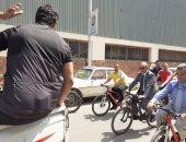 صور... جامعات الزقازيق وأسيوط وجنوب الوادى تنظم ماراثون سباق دراجات