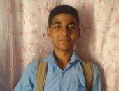 فى أول يوم مدرسة.. محمد يتمنى أن يصبح ضابطًا ليخدم بلده