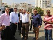 جولة ميدانية لمحافظ السويس بمدن 24 أكتوبر والمميز والسلام واليسر وميدان الأربعين
