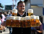 مهرجان البيرة الألمانى فى دورته الـ186 فى ميونخ