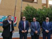 صور.. انطلاق العام الدراسى بالإسكندرية.. والمحافظ يتفقد مدارس شرق