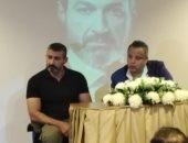 ياسر جلال خلال ندوة قصر السينما: تشرفت بالعمل مع نادية الجندى فى 3 أفلام