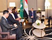 """مدير """"الفاو"""" يشيد خلال لقاء السيسى بالنشاط الضخم لمصر فى الزراعة والتنمية"""