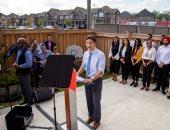 رئيس وزراء كندا يواصل حملته الانتخابية استعدادا لانتخابات البرلمان