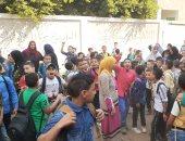 """عجز المدرسين أزمة فى مدارس قرية """"صراوة وشطانوف"""" بالمنوفية.. والأهالى يستغيثون"""