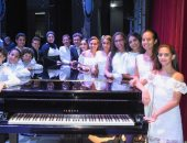براعم تنمية المواهب بأوبرا الإسكندرية يتألقون فى حفل فنى جديد