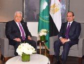 قمة مصرية فلسطينية بنيويورك.. والسيسى: نواصل جهود استعادة حقوق الفلسطينيين