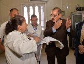 محافظ أسيوط يشدد على تقديم الرعاية الصحية للمرضى بمستشفى أبنوب