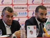 مرتجي وسراج الدين يصلان إسبانيا لتمثيل الأهلي فى مؤتمر صناعة كرة القدم