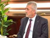 وزير التنمية المحلية يستقبل وزير الحكم المحلى الفلسطينى