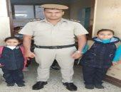 """بلدك مش نسياك.. قيادات الشرطة يصطحبون أبناء الشهداء للمدارس """"فيديو"""""""