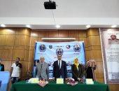 جامعة دمنهور تنظم ندوة حاشدة عن تحديات الأمن القومى المصرى