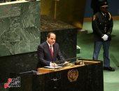 صفحة الرئيس تنشر نتائج مشاركته بالأمم المتحدة.. أبرزها لقاء 19 من رؤساء العالم