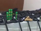 الأمن العام يضبط 164 قطعة سلاح نارى وينفذ 72 ألف حكم خلال 24 ساعة